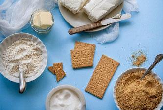 Kuchen backen Zutaten