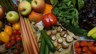 Gemüse Obst Pilze