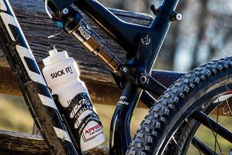 Fahrrad mit Trinkflasche