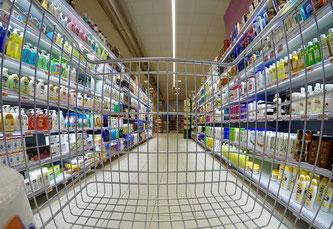 Supermarkt Einkaufswagen