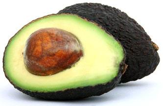 Avocado aufgeschnitten