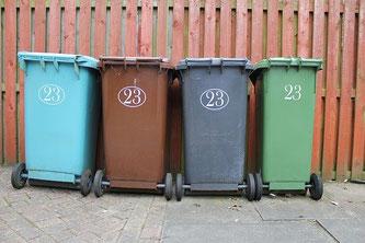 Mülltonnen Abfall