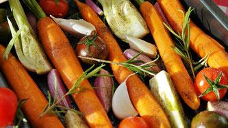 Gemüse gekocht