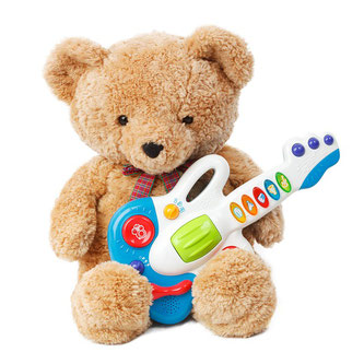 Bär Gitarre Spielzeug