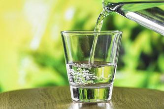 Wasser Glas Trinkwasser