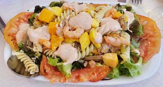 Essen zum Mitnehmen Salat