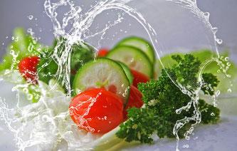 Gemüse frisch Wasser