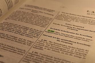 Verordnung Gesetz Paragraphen