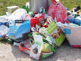 Abfall Müll