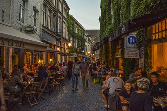 Gastronomie Gastgarten Straße