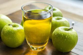 Äpfel Apfelsaft