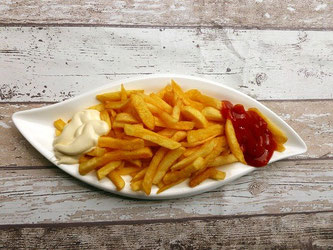 Pommes Frittes Ketchup Mayo