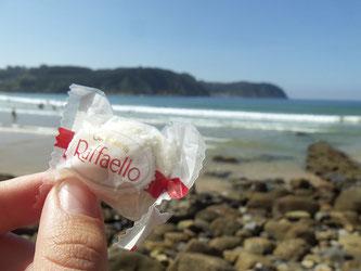 Raffaello am Strand