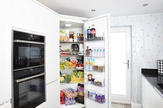 Kühlschrank offen Küche