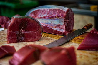 Thunfisch am Markt