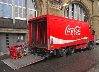 LKW mit Coca Cola