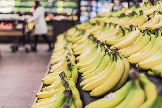 Bananen Supermarkt