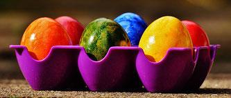 Eier bunt