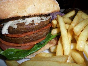 Burger Fritten vegan