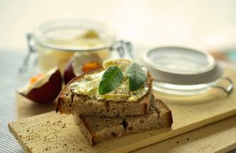 Brot Butter Frühstück