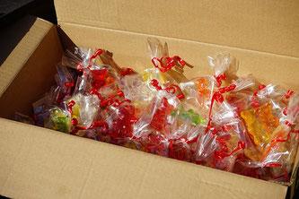 Gummibären verpackt