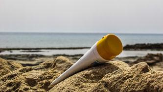 Sonnencreme Tube Strand Meer