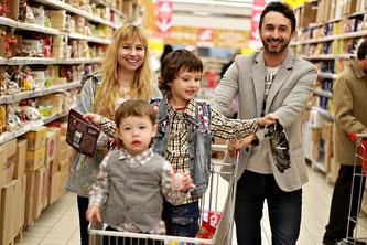 Einkauf Supermarkt