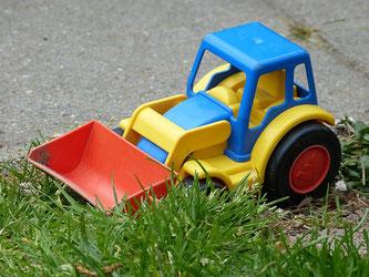 Spielzeug Bagger Kunststoff