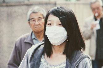 Mundschutz Virus