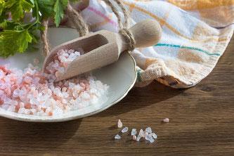Salz grob Tisch