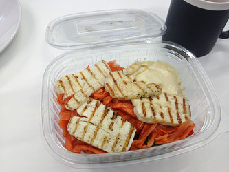 Salat Halloumi Box