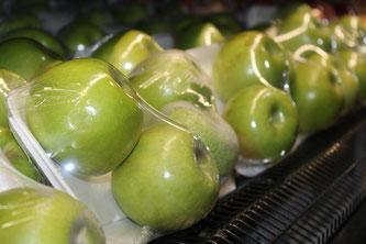 Äpfel Supermarkt