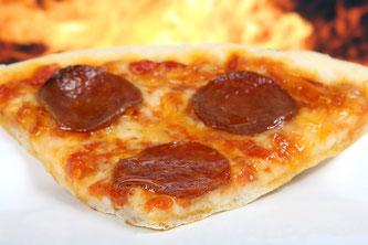 Pizzaschnitte mit Salami