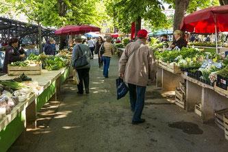 Markt Gemüse Einkauf