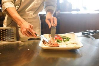 Koch Küche kochen anrichten