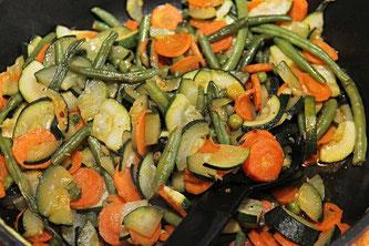Pfanne Gemüse