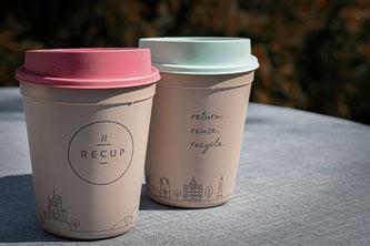 2 Kaffeebecher to go