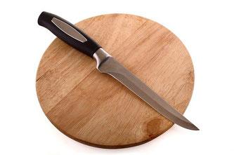 Messer Schneidbrett