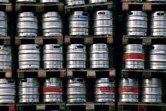 Bier Fässer Edelstahl