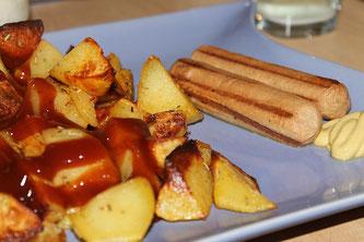 Würstchen Kartoffel