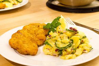 Schnitzel Kartoffelsalat