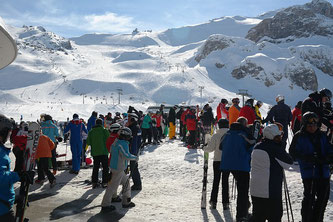 Schnee Schifahren Ischgl