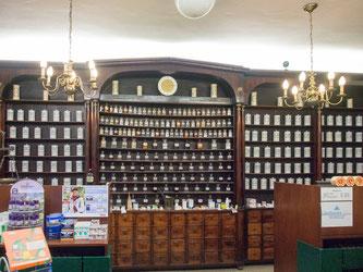 Bild: Das Innere der alten Ratsapotheke