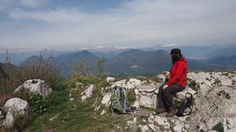 Bild: Herrlicher Blick von Macro Monte di Varese über das Tal
