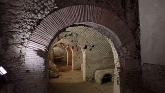 Bild: Antiker römischer Markt der Stadt Neapolis