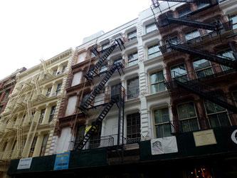 Bild: Gusseisengebäude in der Green Street in SoHo