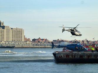 Bild: Hubschrauber-Landeplatz in New York