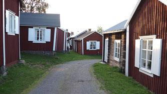 Bild: Das Kirchendorf von Gammelstad