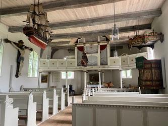 Bild: Schifferkirche von innen