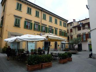 Bild: Piazza in Borgo San Lorenzo